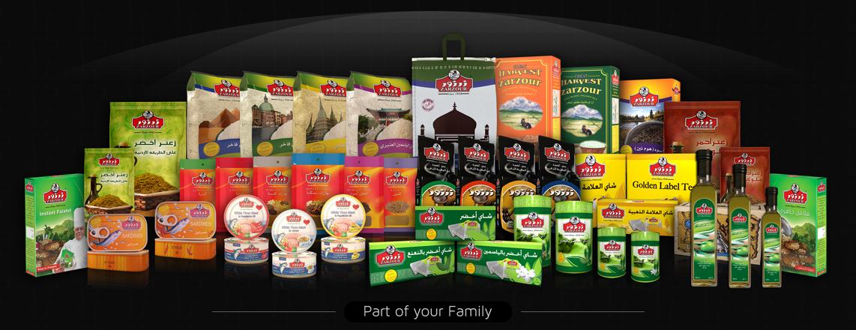 Zarzour Foods | Tea, Coffe, Thyme, Tuna, Rise, Spices
